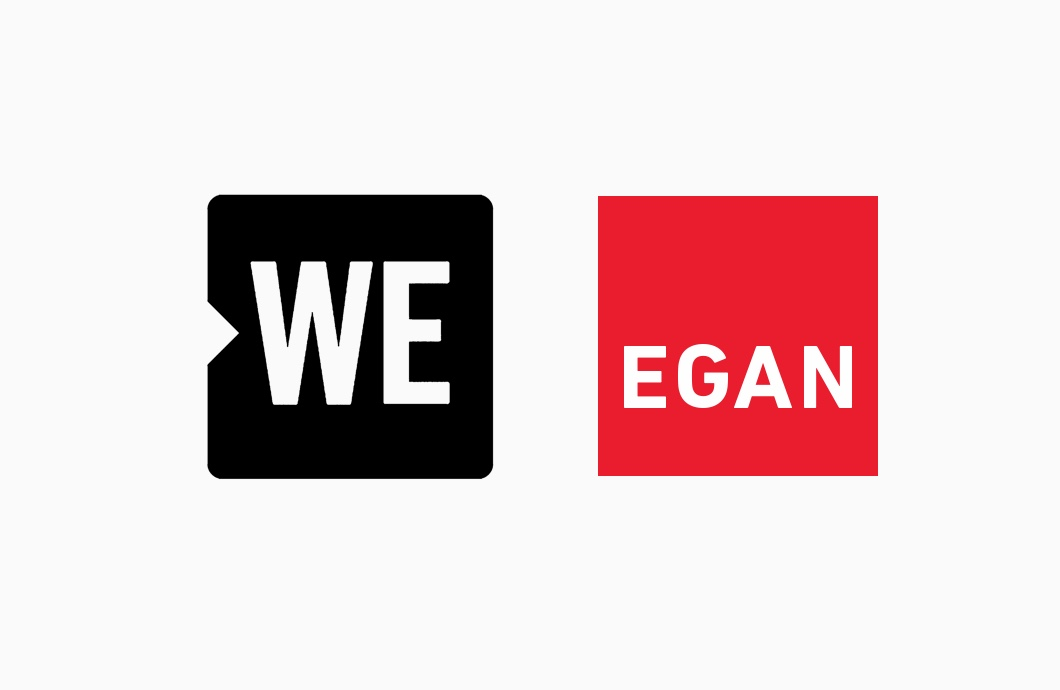 We Foundation and Egan Logo