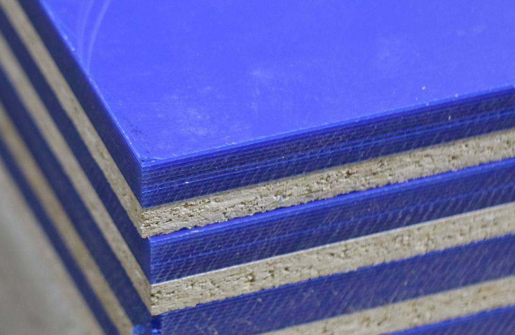 Egan Blue and Grey Foam Materials